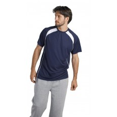 Tee-shirt respirant homme bicolore, 140 g