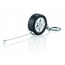 Porte-clés mètre forme pneu