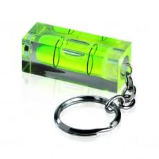 Porte-clés avec niveau à bulle
