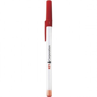 STYLO BILLE ROUND STIC MARQ. 1 COULEUR