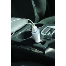 CHARGEUR VOITURE 2 PORTS USB EOLA