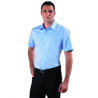 CHEMISE FEMME STRETCH MANCHES COURTES