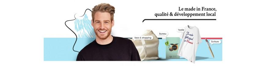 Objets publicitaires de fabrication ou de conception française