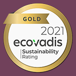 médaille d'or ecovadis 2021