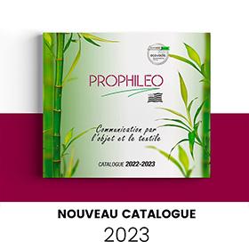 Consultez le catalogue objet pub Prophileo