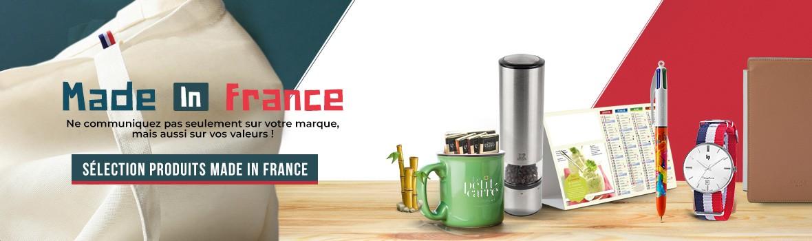 decouvrez nos objets publiciatires personnalisables Made In France