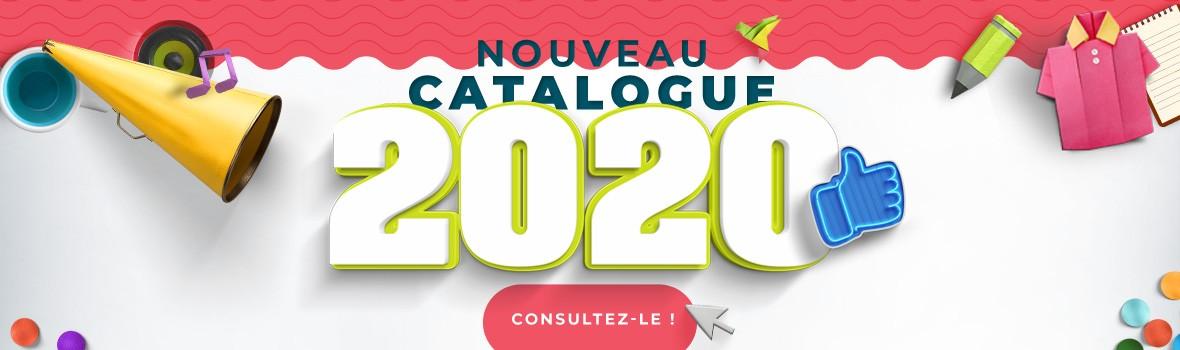 Catalogue objets publicitaires personnalisables 2020