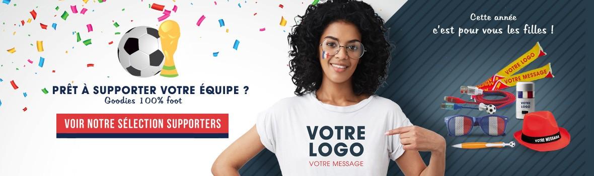 Goodies et textiles publicitaires pour la coupe du monde 2019